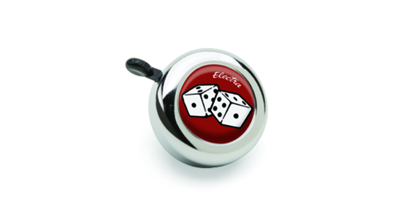 Electra Dice Bell Chrome